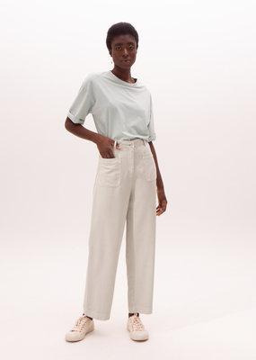Nathalie Vleeschouwer Denim Trousers Misty green 7/8