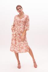 Nathalie Vleeschouwer Lang kleed red palm batik 56358/8
