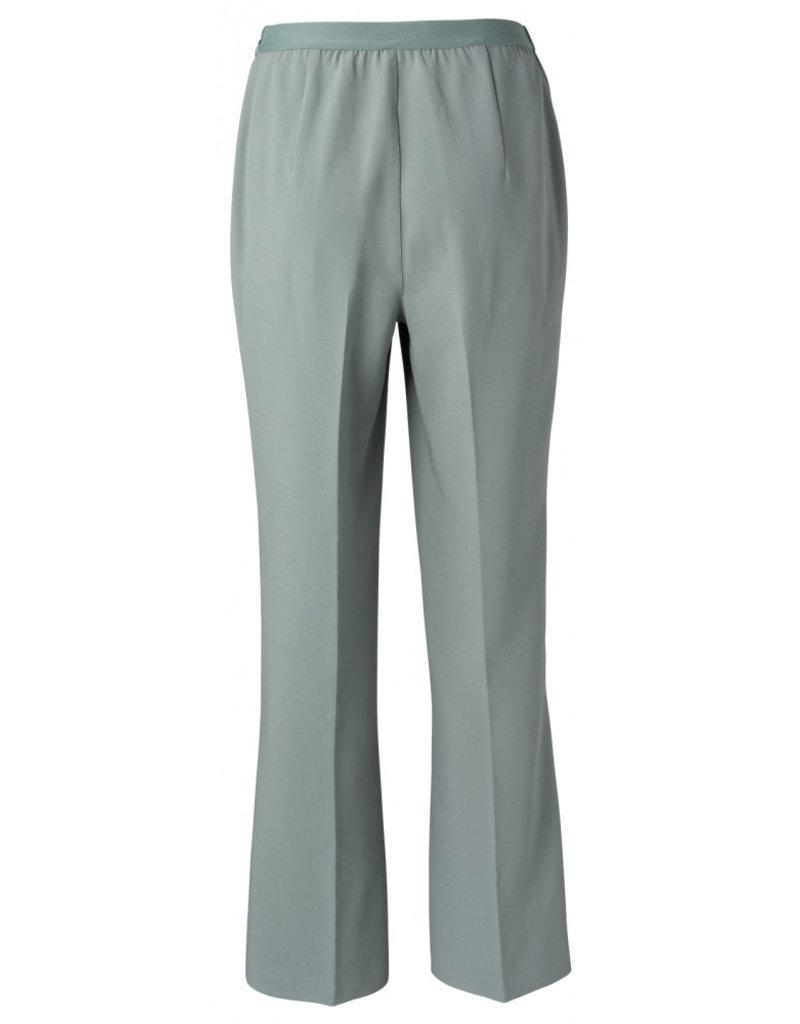 Yaya Losse broek met wijde pijpen lichtblauw 56185/13