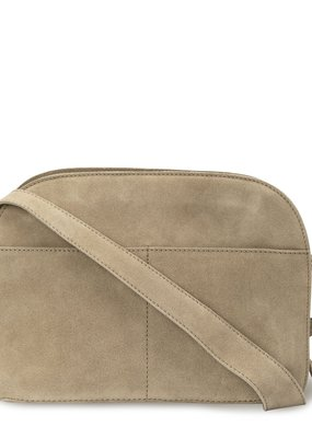 Yaya Suede shoulder bag