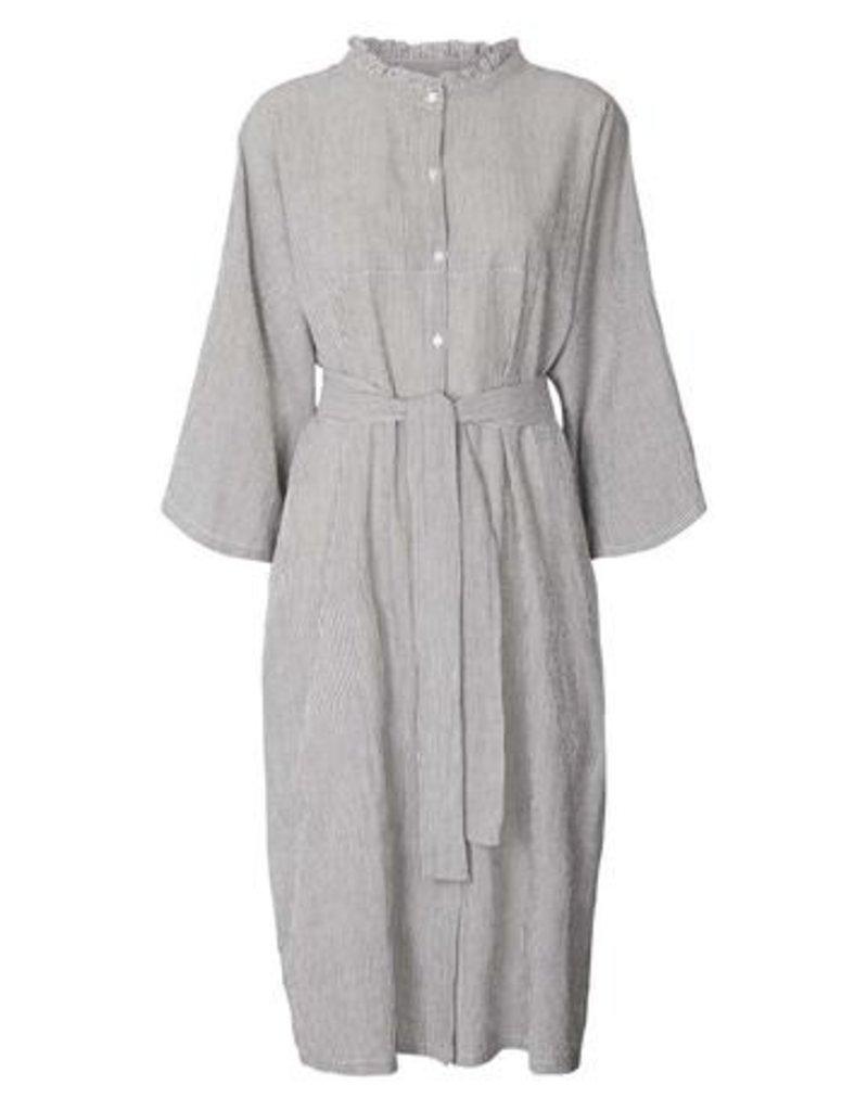 Lolly's Laundry Long dress blauwe strepen 56336/20