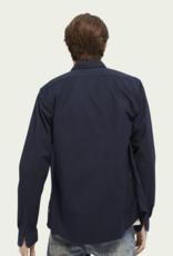 Scotch&Soda Hemd donker blauw 56846/20