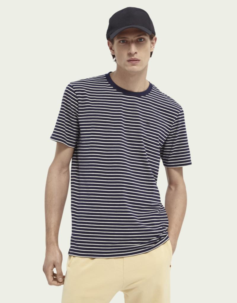 Scotch&Soda Tee stripes navy 154386