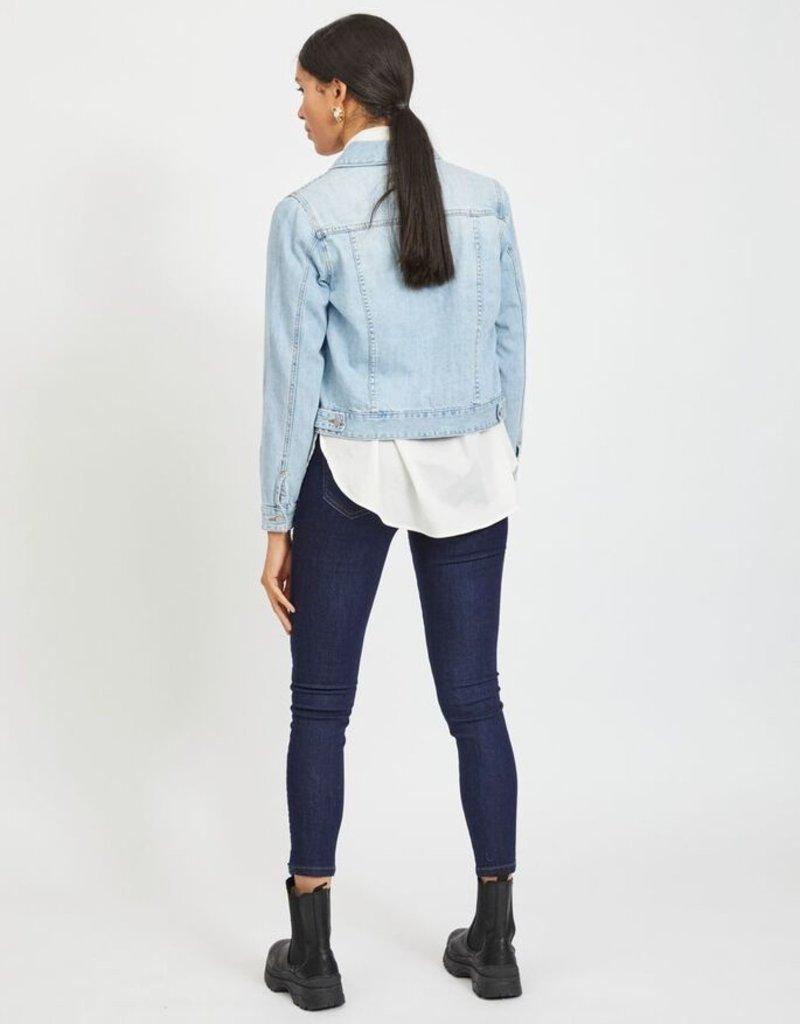 Vila Denim jacket light blue 56489/13