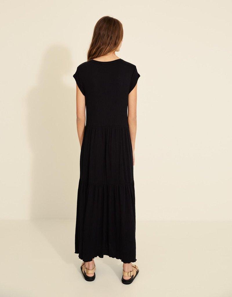 Yerse Kleed lang zwart 56650/17