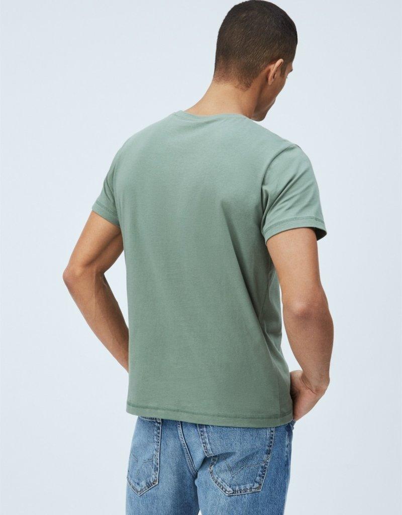 Pepe jeans Men Tee Kaki 56576/21