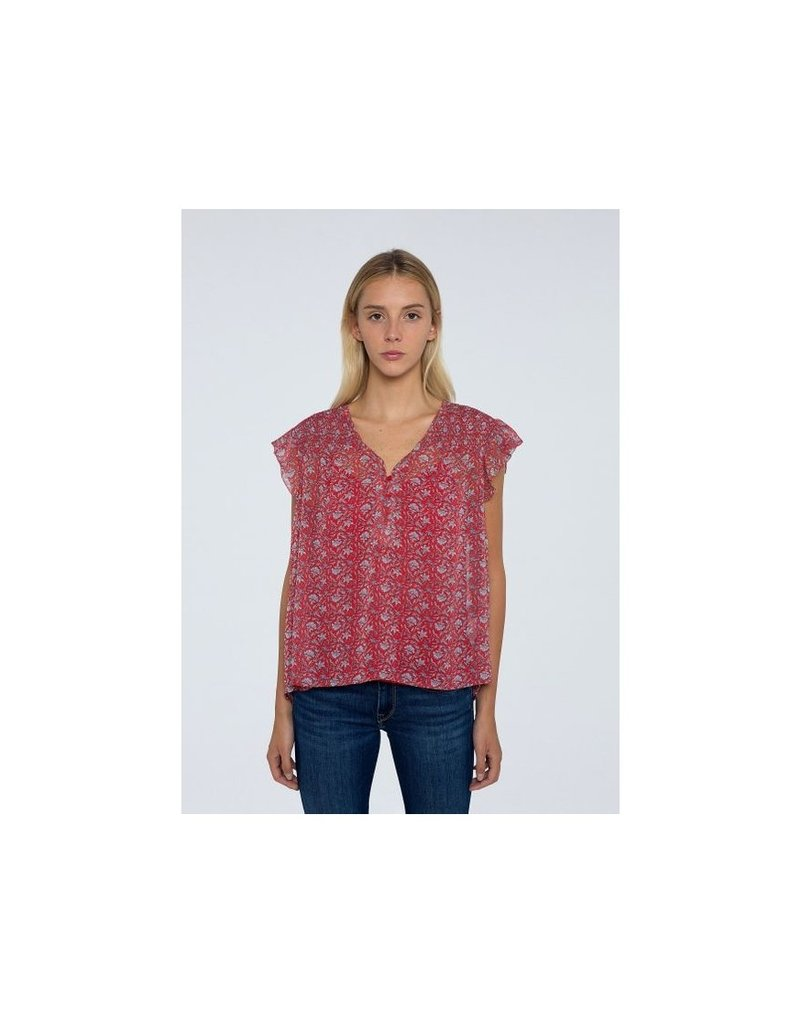 Pepe jeans Women Bloes Rode print 56602/20