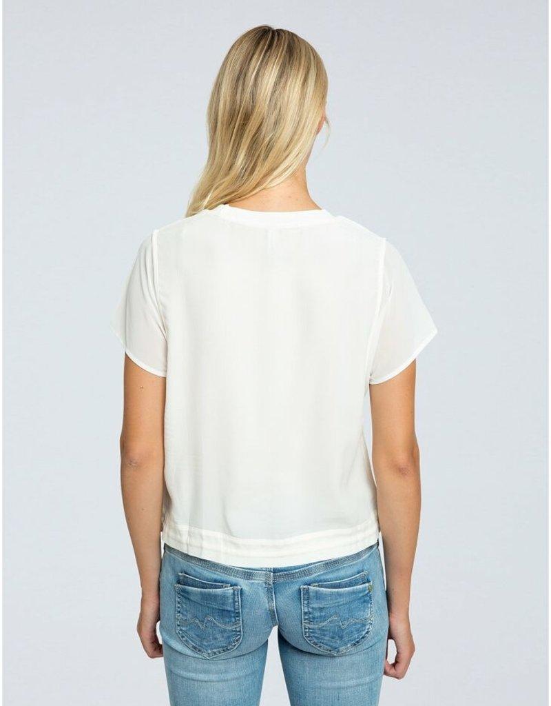 Pepe jeans Women Viscose top ecru 56603/2