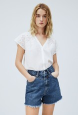 Pepe jeans Women Top ecru 56606/2
