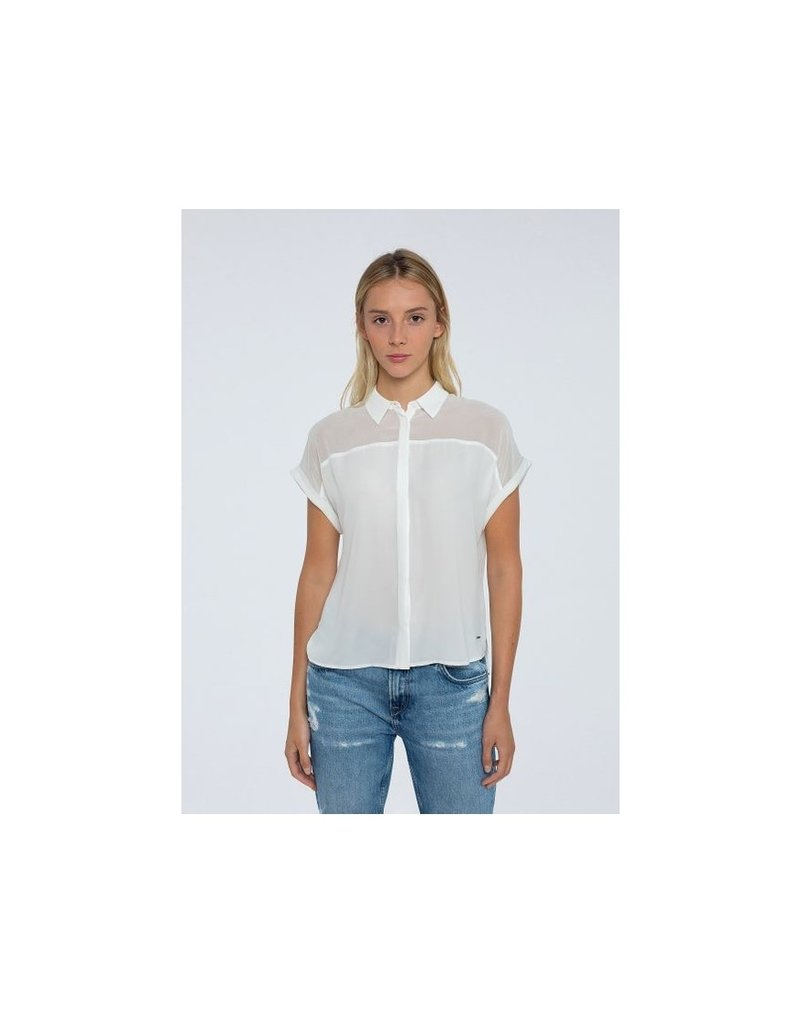 Pepe jeans Women Top ecru 56862/20