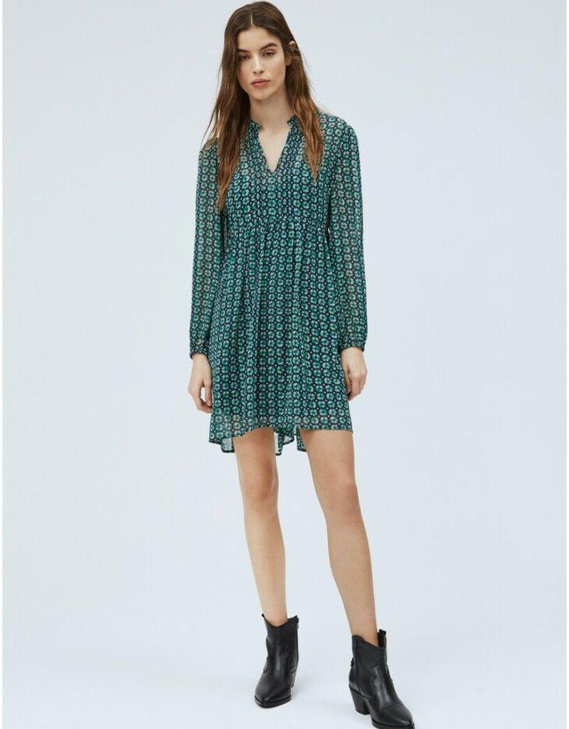 Pepe jeans Women Kleed print groen 56714/20