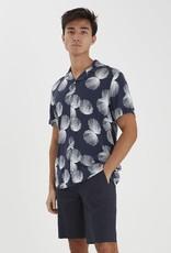 Casual Friday Printed shirt navy 56430/12