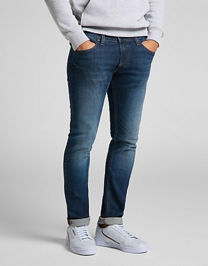 Lee Jeans slim fit met smalle pijpen 56616/18