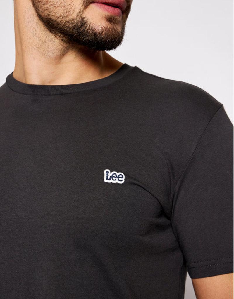 Lee Logo Tee zwart 56619/17