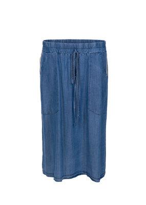 Dame Blanche Long skirt light blue