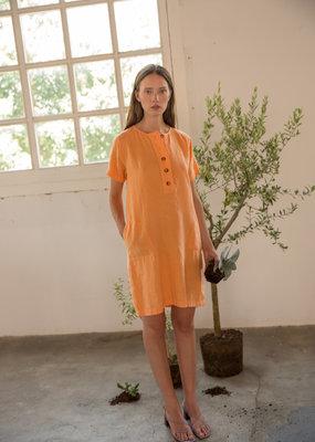 Sita Murt Linnen dress orange
