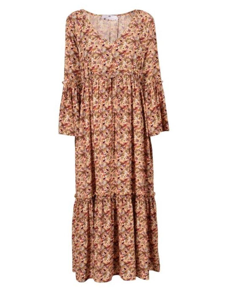 Arniesays Long dress tropical print 56663/20