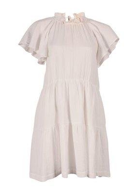 Arniesays Saffron gauze dress