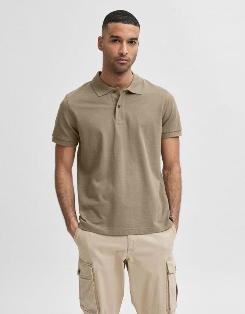 Selected Heren Polo Beige/brown 56517/20