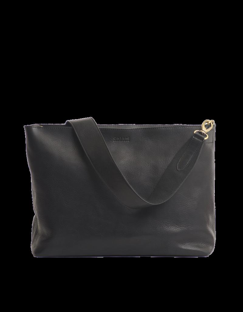 O MY BAG Olivia black stromboli leather