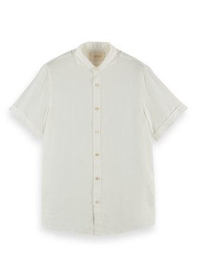 Scotch&Soda Regular fit classic short sleeve shirt