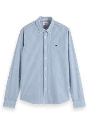 Scotch&Soda Crispy poplin shirt regular fit