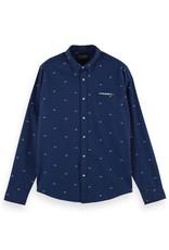 Scotch&Soda hemd pocket 56856/20