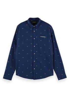 Scotch&Soda Regular fit Classic fit pocket shirt