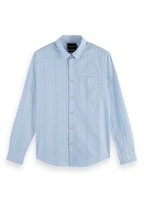 Scotch&Soda Regular fit striped shirt