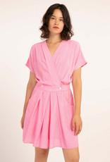 FRNCH Kleed roze 57032/7