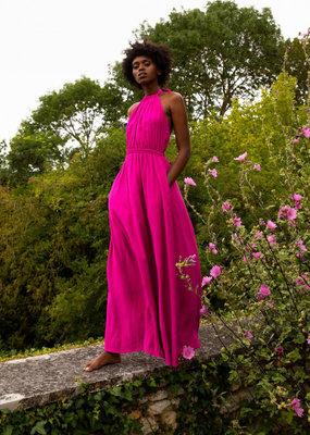 FRNCH Dress fuschia