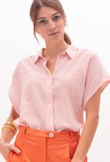 Nathalie Vleeschouwer Bloes wit/roze strepen 56374/7
