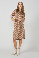Summum Kleed bruin/beige print 56456/20