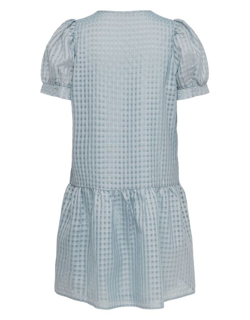 Only licht blauw kleedje