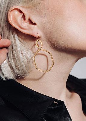 Laurence Delvallez Octa earrings