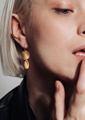 Laurence Delvallez Psy earrings