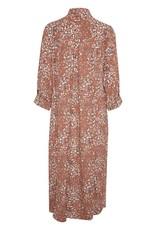 B-young Long dress rode print 57084/8
