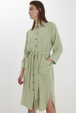 B-young Shirt dress kaki 57075/21