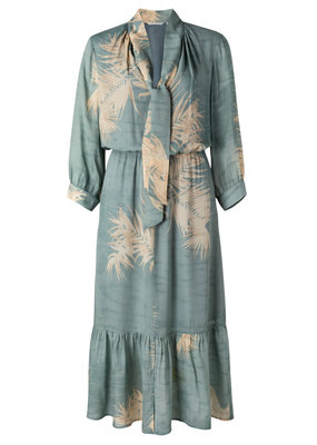 Yaya Romantic dress light blue