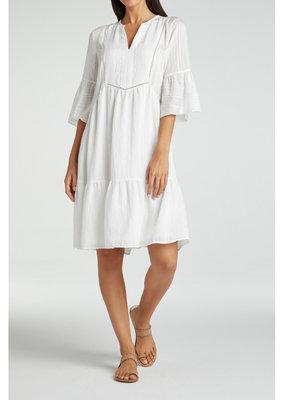 Yaya Midi A line dress with ruffles