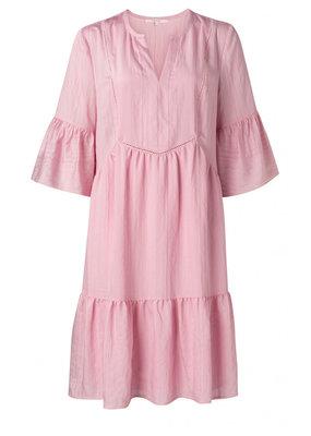 Yaya Midi A line dress with ruffles  - Copy