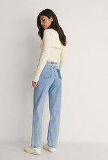 NA-KD Contrast pocket high waist denim 56159/18