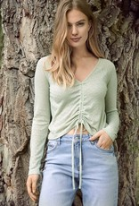 B-young Long sleeve shirt kaki 57081/21
