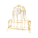 Kiki van Eijk Floating Frames Mantel klok alu/goud - Kiki van Eijk