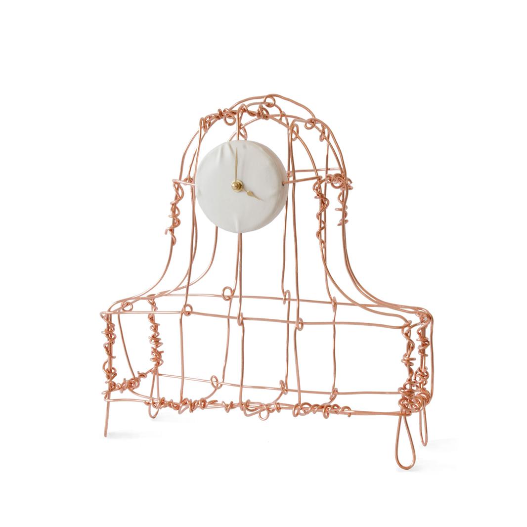 Kiki van Eijk Floating Frames Mantelklok koper - Kiki van Eijk