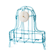 Kiki van Eijk Floating Frames Mantelklok alu/blauw - Kiki van Eijk
