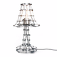 Kiki van Eijk Floating Frames tafellamp aluminium - Kiki van Eijk