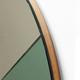 Vij5 Moonrise spiegel spring (groen en helder glas) - Michael Funch x Vij5
