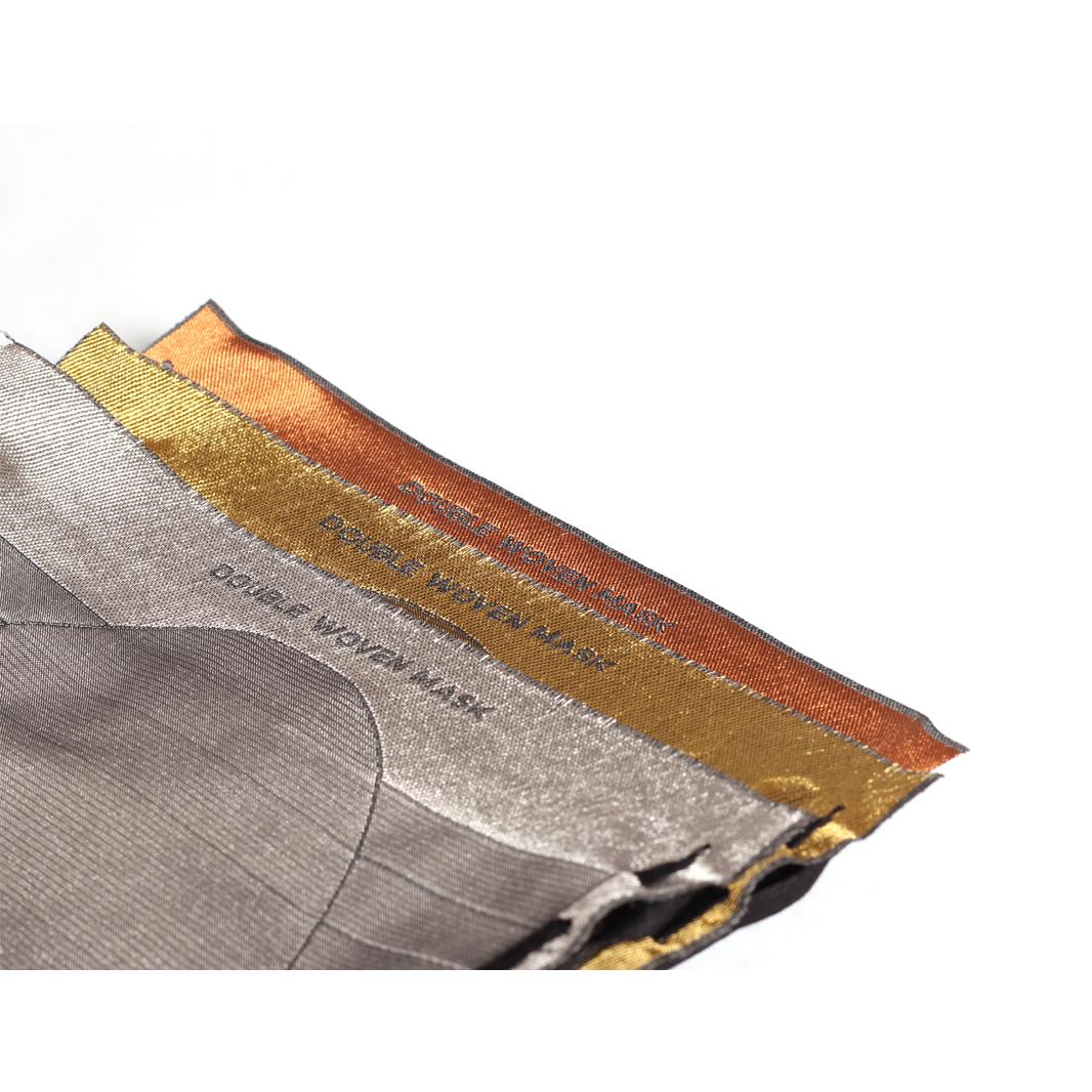Nominette Mondkapje Goud/zilver/koper (set van 3) - EE Labels