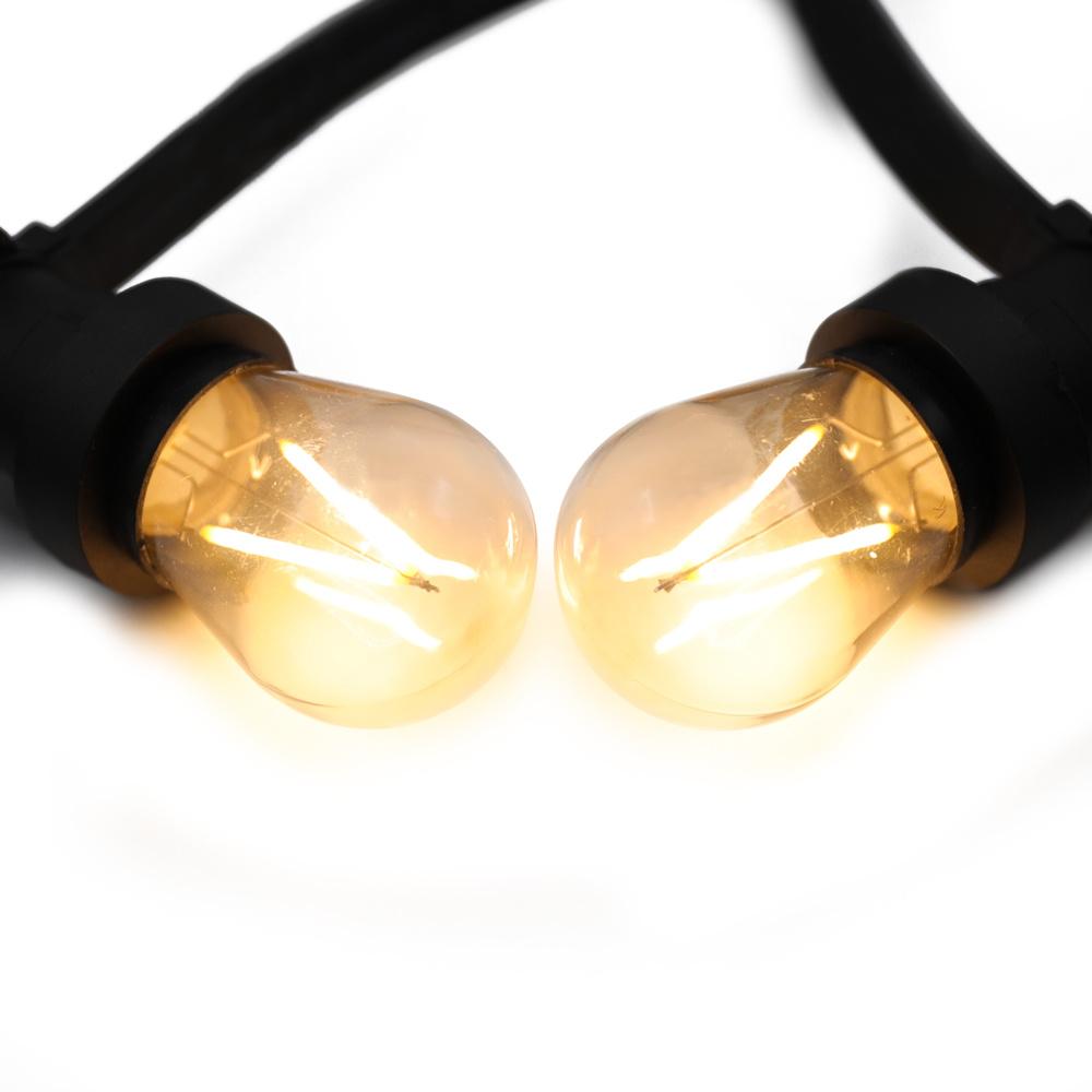 Varmhvide LED-pærer